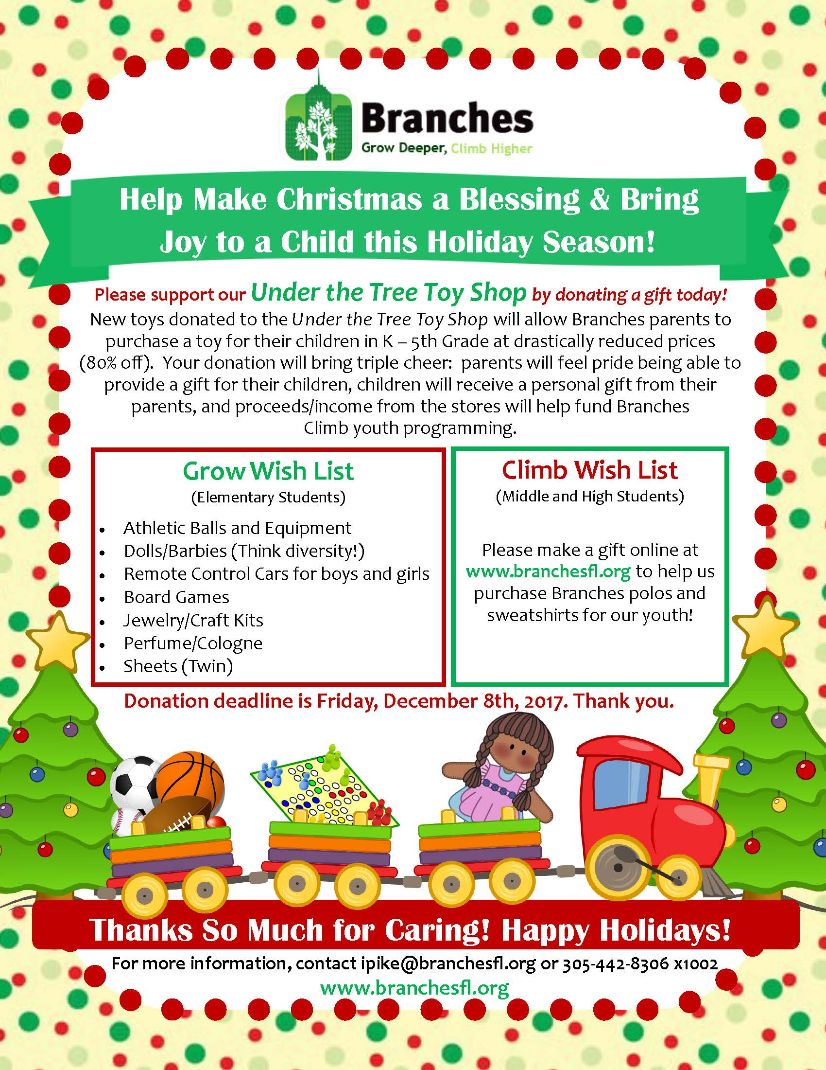 2017 Branches Toy Shop Flyer